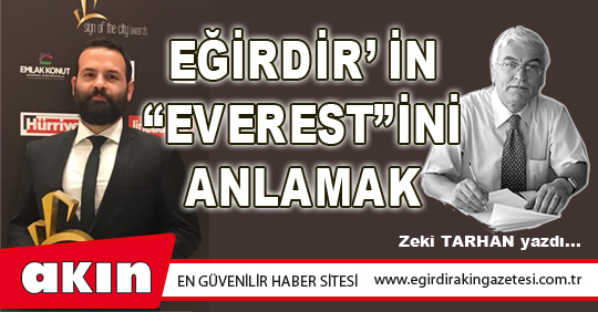 "Eğirdir'in ""Everest""ini Anlamak"